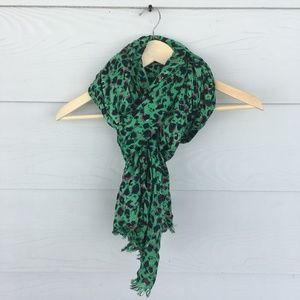 Urban Outfitters Green Summer/Spring Scarf